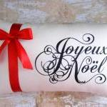 Christmas Pillow, Joyeux N..