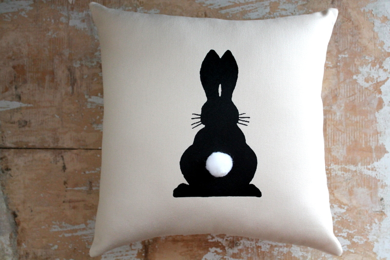 Http Www Luulla Com Product 64984 Easter Pillow Bunny Rabbit Easter Decor Home Decor Cottage Decor